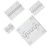 BUTT HINGES 1.5MM 8049 A2/304 INOX