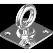 DIAMOND PAD EYES A2/304 8396 ΙΝΟΧ