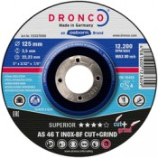 CUT AND GRIND DISC DRONCO