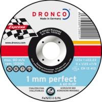 CUTTING DISC INOX DRONCO