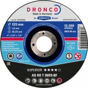 CUTTING DISC INOX SPECIAL DRONCO